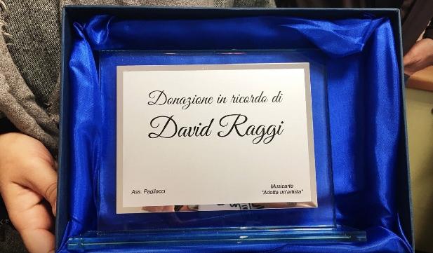 Donazione David Raggi