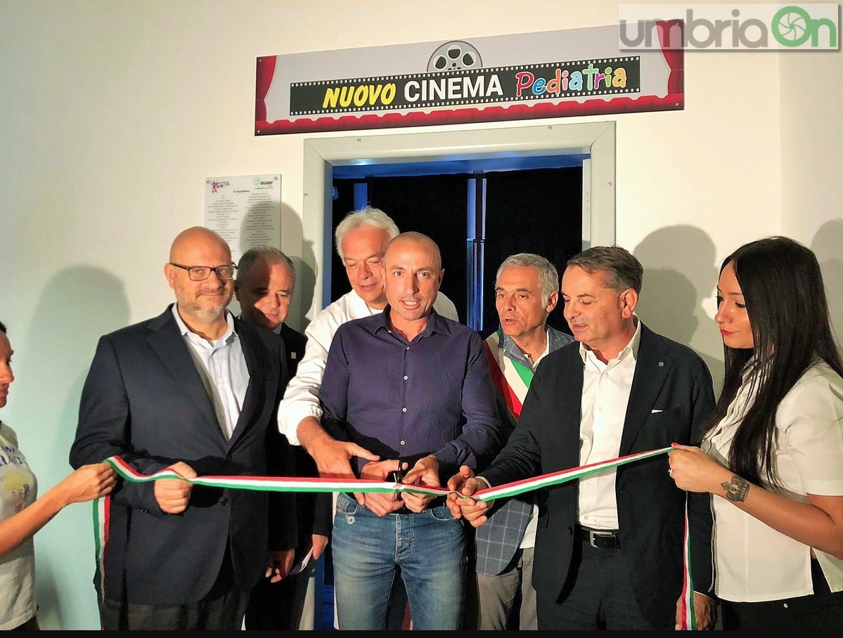 Umbria on: 'Si aprono le porte del 'Cinema in pediatria'