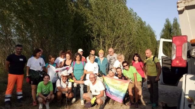 TERNI TODAY: Volontari In Azione Sulla Greenway: Raccolti Oltre Quaranta Sacchi Di Rifiuti.