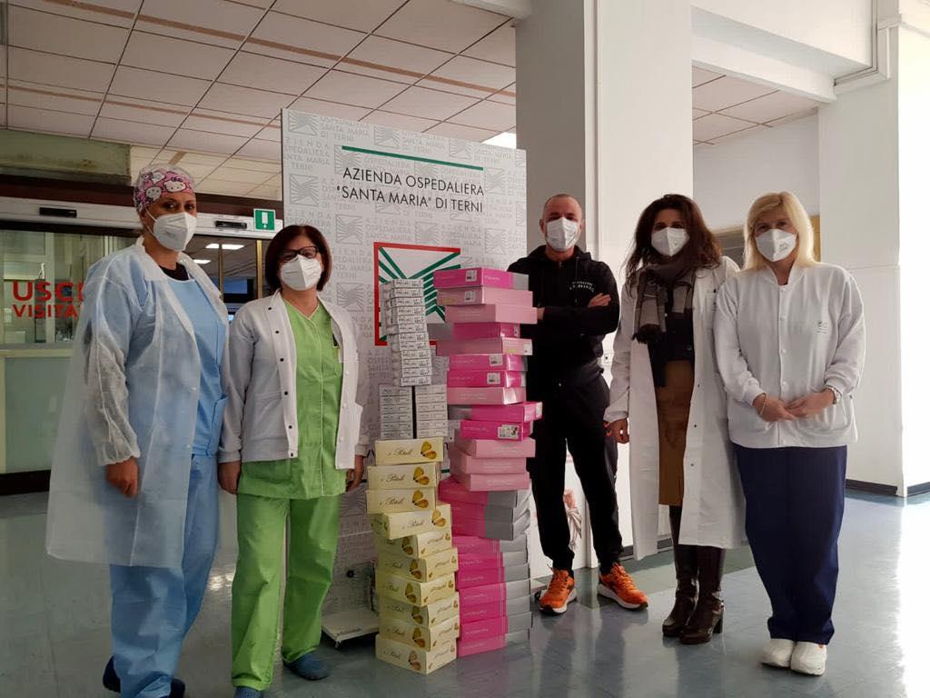 Nuova Donazione All'Ospedale Di Terni