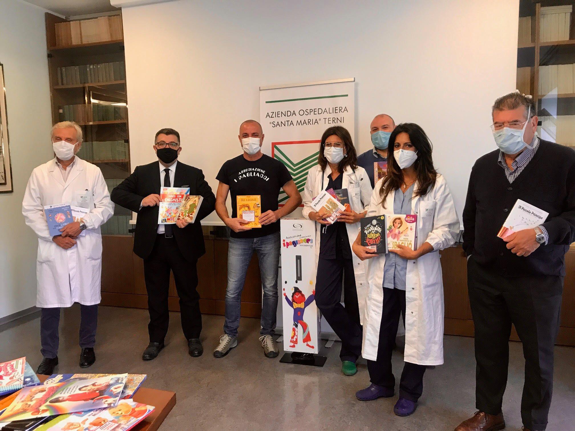 Donazione Libri Ospedale Terni