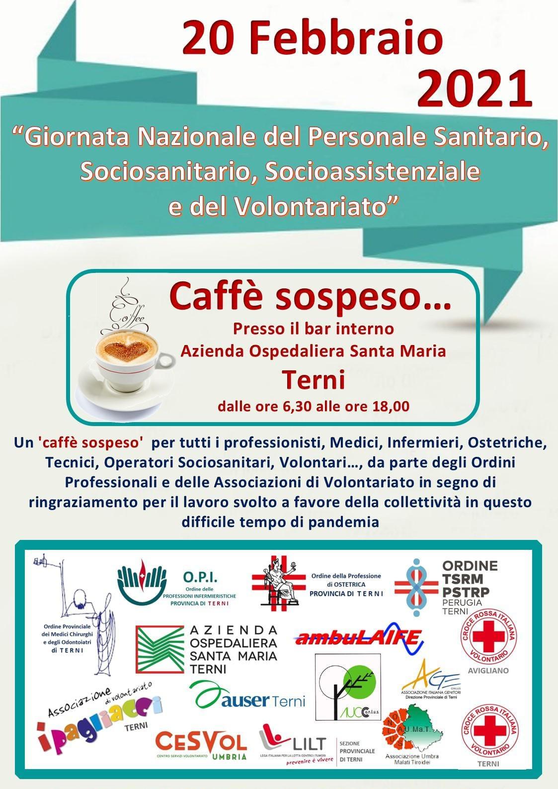 Giornata Nazionale Del Personale Sanitario E Sociosanitario, Del Personale Socioassistenziale E Del Volontariato – 20 Febbraio 2021